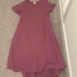 Lularoe pocket midi dress xs